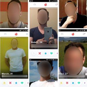 tinder zdjęcia facetów - przyczyna braku par
