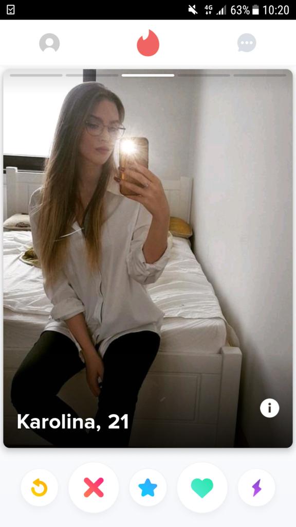 Polski Tinder co to jest - zrzut ekranu